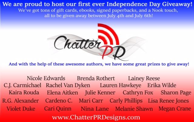 chatter box PR giveaway2