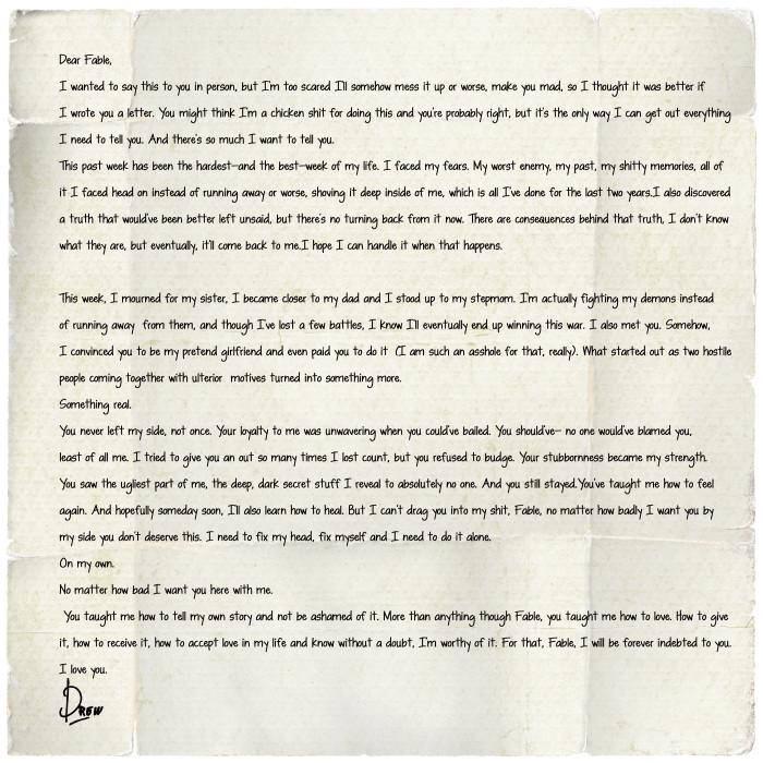Drews Letter