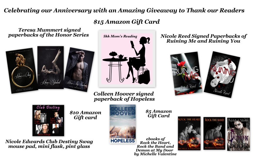 3 month anniversary giveaway