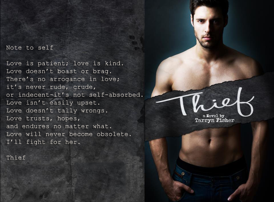 Book Promo: Thief (Love Me With Lies #3) by Tarryn Fisher