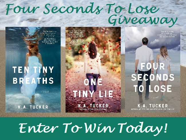 Four Seconds to Lose Giveaway
