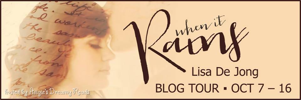 When it Rains Blog Tour Banner