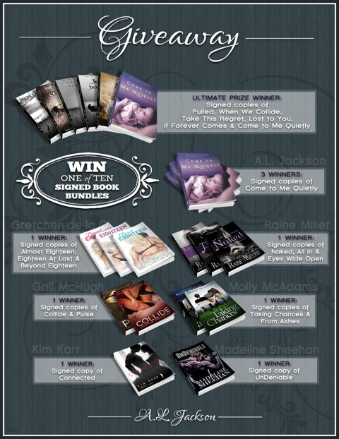 Come to Me Softly Giveaway picture