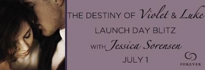 Release Day Blitz and Giveaway: The Destiny of Violet and Luke (The Coincidence #3) by Jessica Sorensen