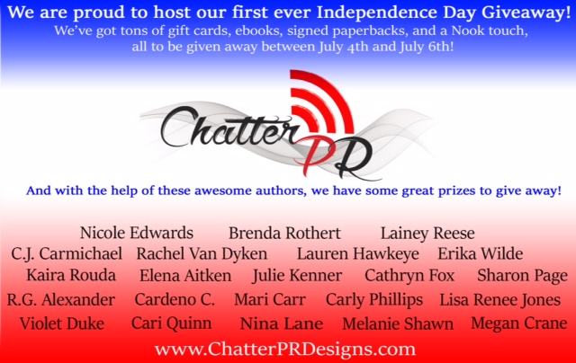 chatter box PR giveaway2