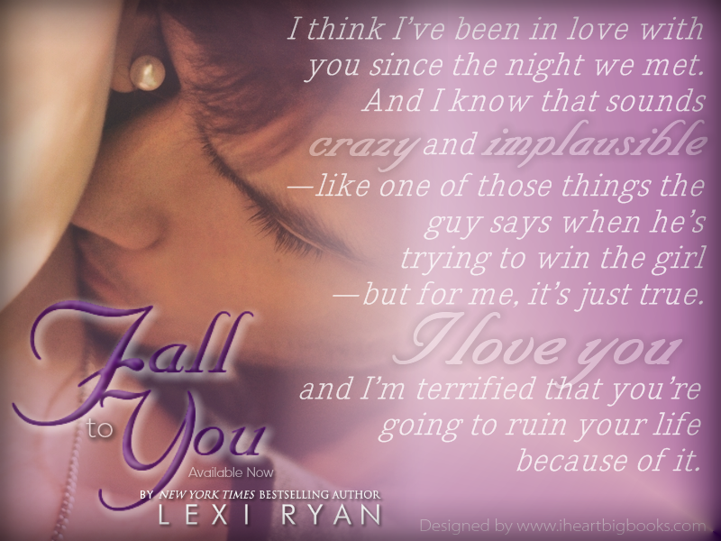 Lexi Ryan Fall to You Teaser 4