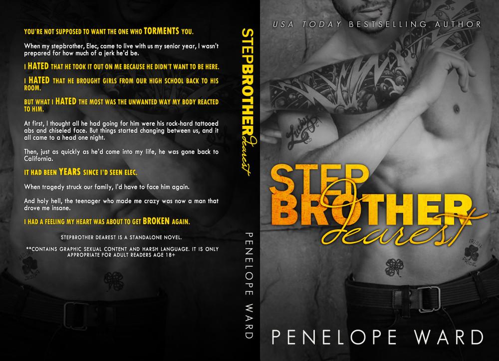 StepbrotherDearestBookCover6x9_BW_250 (2)