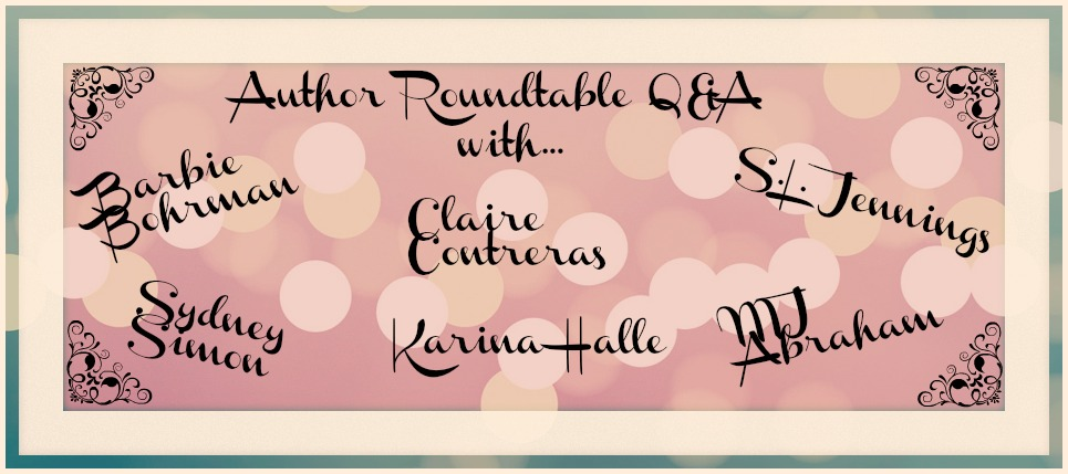 Author q&a Banner