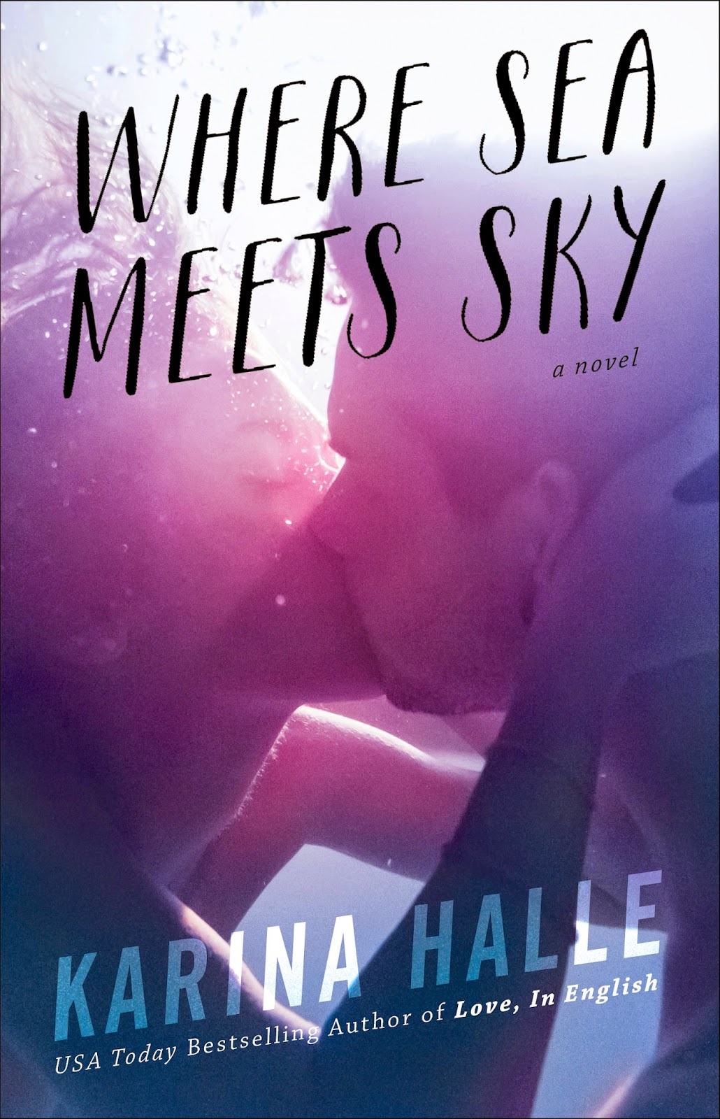 Cover Reveal: Where Sea Meets Sky by Karina Halle