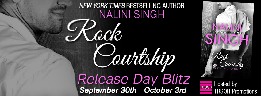 Release Day Launch and Giveaway: Rock Courtship (Rock Kiss #1.5) by Nalini Singh