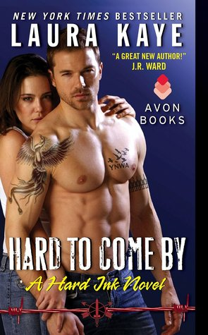 Blog Tour and Giveaway: Hard to Come By (Hard Ink #3) by Laura Kaye