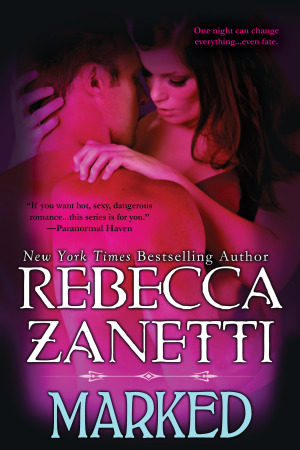 Waiting on Wednesday and Giveaway: Marked (Dark Protectors #7) by Rebecca Zanetti