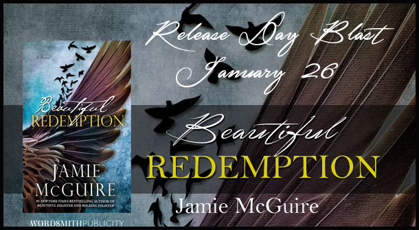 Release Day Blitz and Review: Beautiful Redemption (The Maddox Brothers #2) by Jamie McGuire