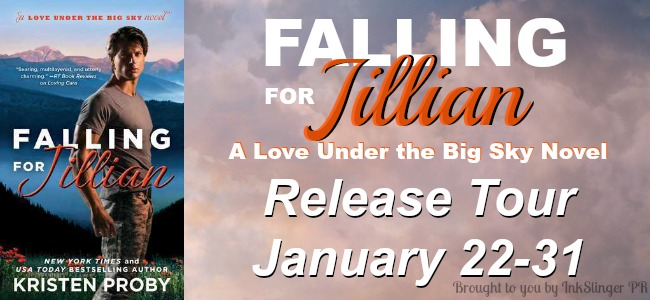 Blog Tour Review and Giveaway: Falling for Jillian (Love Under the Big Sky #3) by Kristen Proby