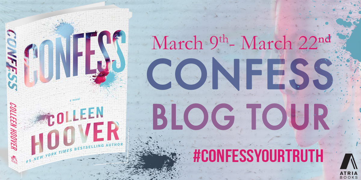Blog Tour Review and Giveaway: Confess by Colleen Hoover