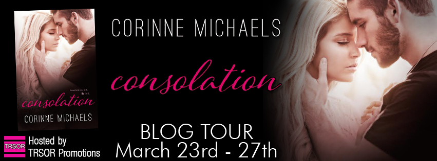 Blog Tour and Giveaway: Consolation (The Consolation Duet #1) by Corinne Michaels