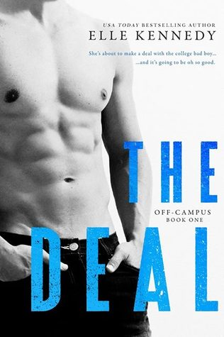 Review, Top 5 Things and Giveaway: The Deal (Off-Campus #1) by Elle Kennedy