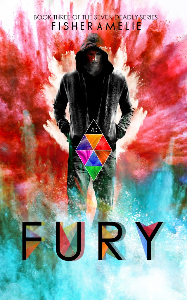 Cover Reveal: Fury (The Seven Deadly #3) by Fisher Amelie