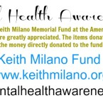 The Keith Milano Memorial Fund Online Auction is now Open!!