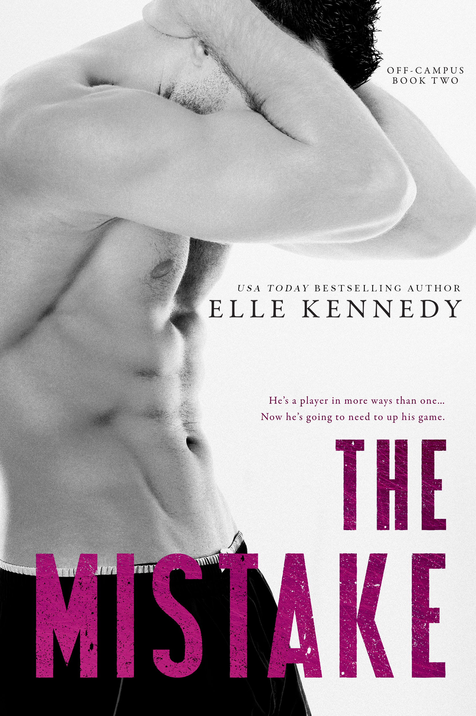 Cover Reveal: The Mistake (Off-Campus #2) by Elle Kennedy