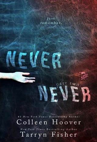 Review and Giveaway: Never Never: Part Two (Never Never #2) by Colleen Hoover and Tarryn Fisher