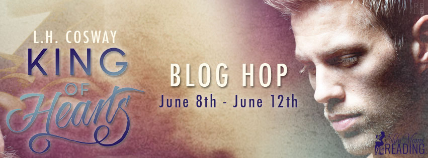 L.H. Cosway's King of Hearts Blog Hop and ARC Giveaway