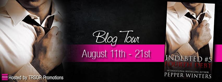 Release Day Blitz: Fourth Debt (Indebted #5) by Pepper Winters