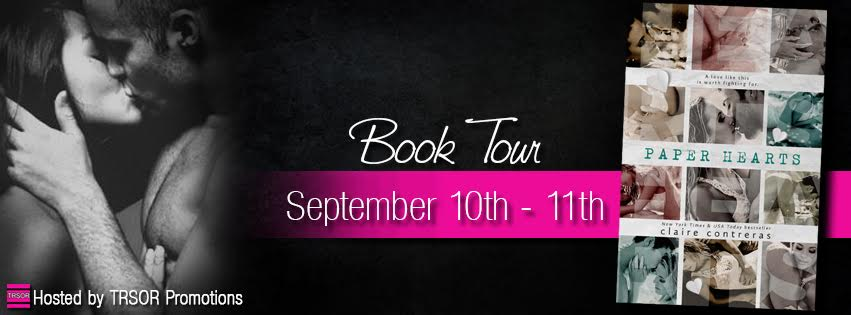 Blog Tour and Giveaway: Paper Hearts (Hearts #2) by Claire Contreras