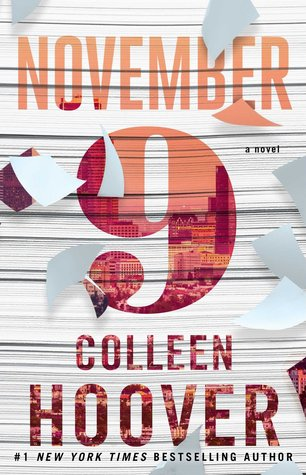 Countdown and Giveaway to November 9 by Colleen Hoover