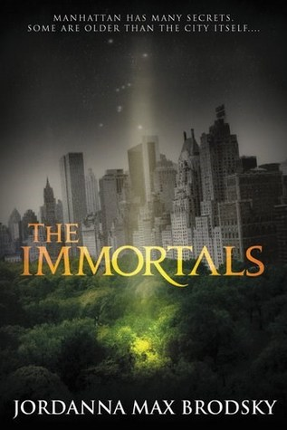 Excerpt and Giveaway: The Immortals (Olympus Bound #1) by Jordanna Max Brodsky