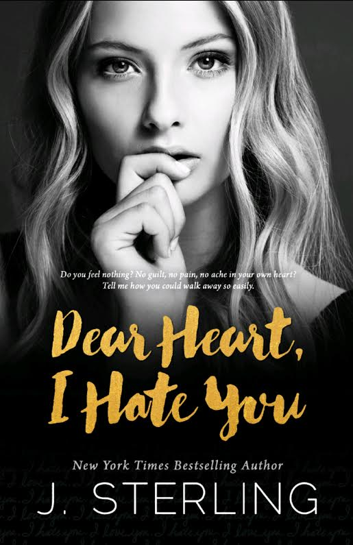 Cover Reveal: Dear Heart, I Hate You by J. Sterling
