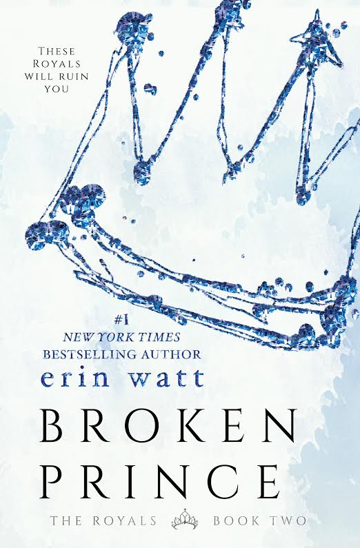 Erin Watt reveals the cover for Broken Prince!