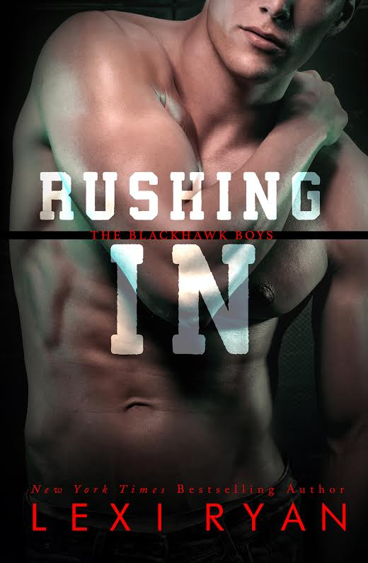 Lexi Ryan reveals the cover for Rushing In!!