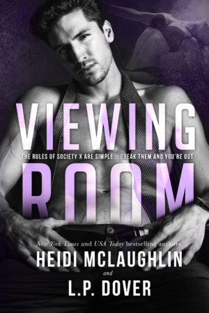Viewing Room Cover Reveal by Heidi McLaughlin and L.P Dover