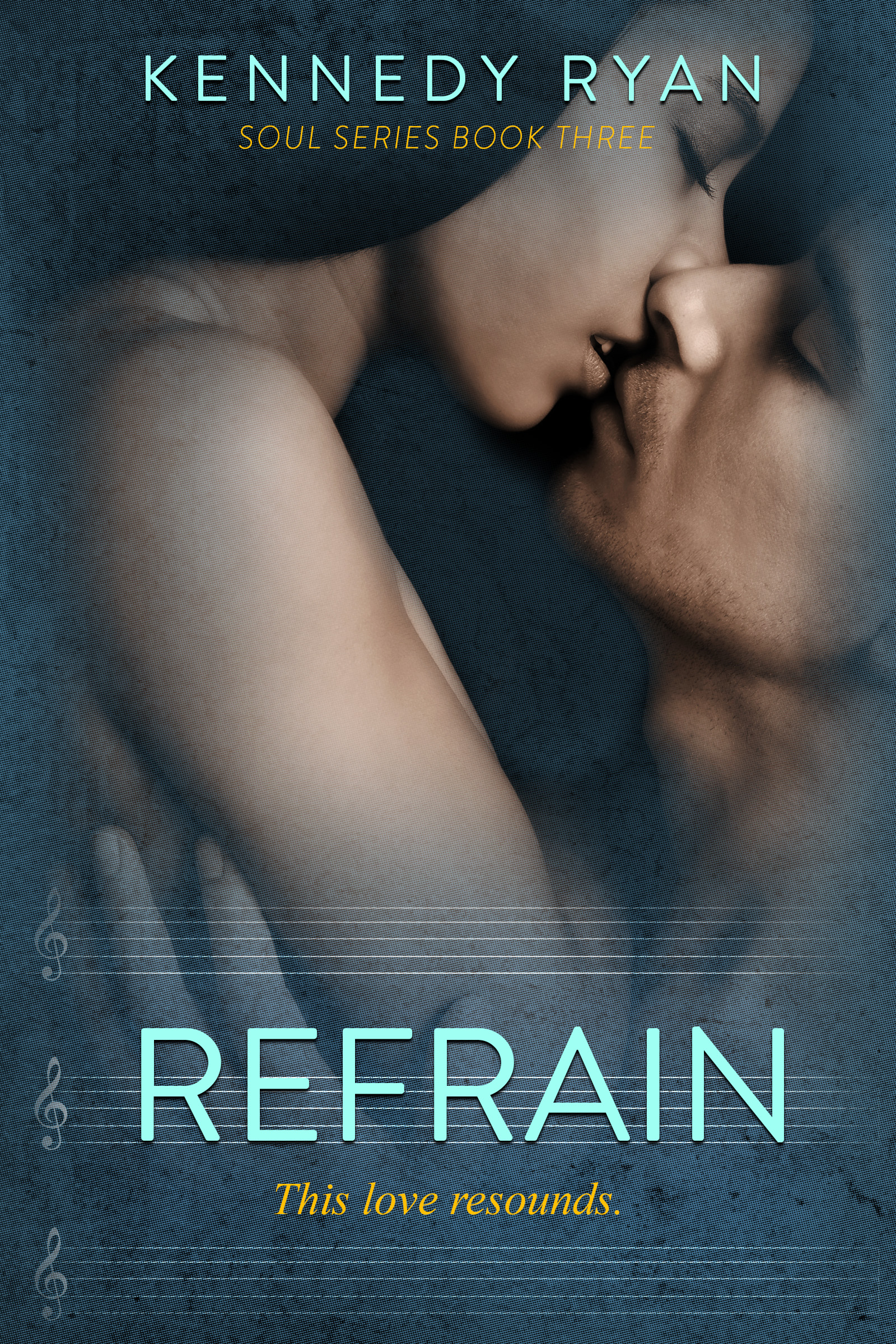 Kennedy Ryan Reveals her cover for Refrain!