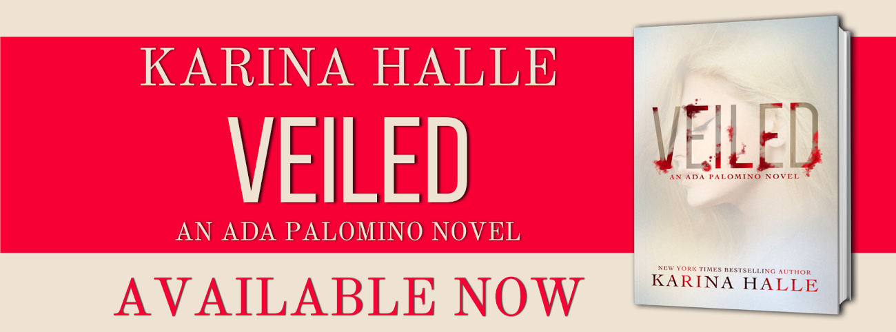 Veiled by Karina Halle is LIVE!