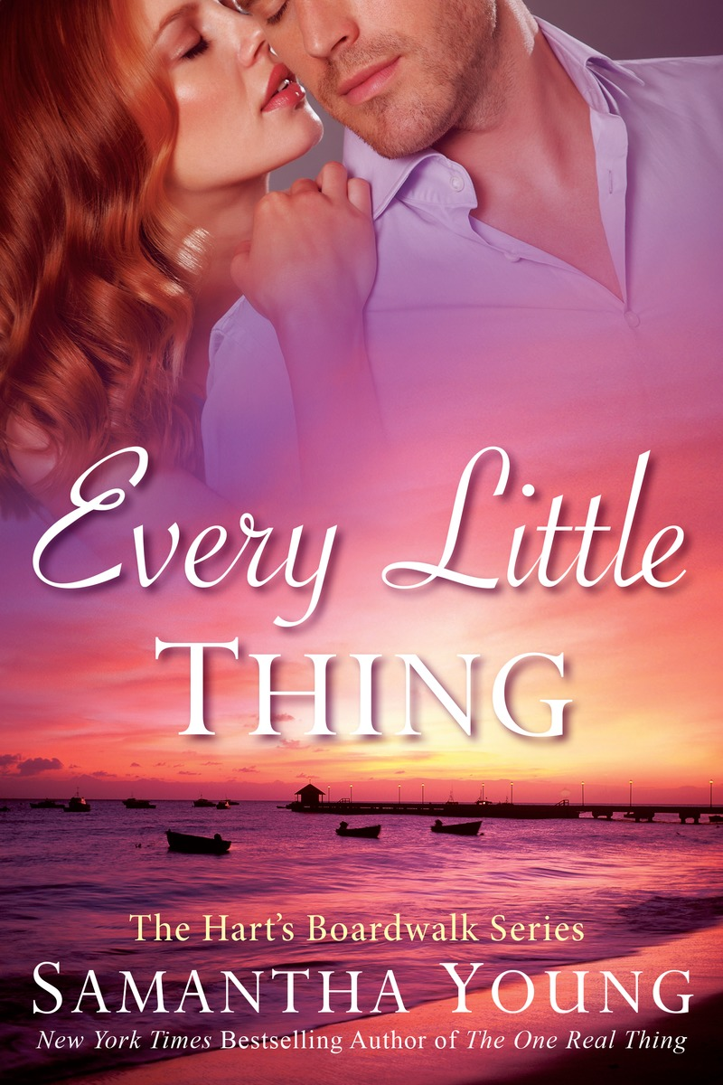 Samantha Young reveals her cover for Every Little Thing