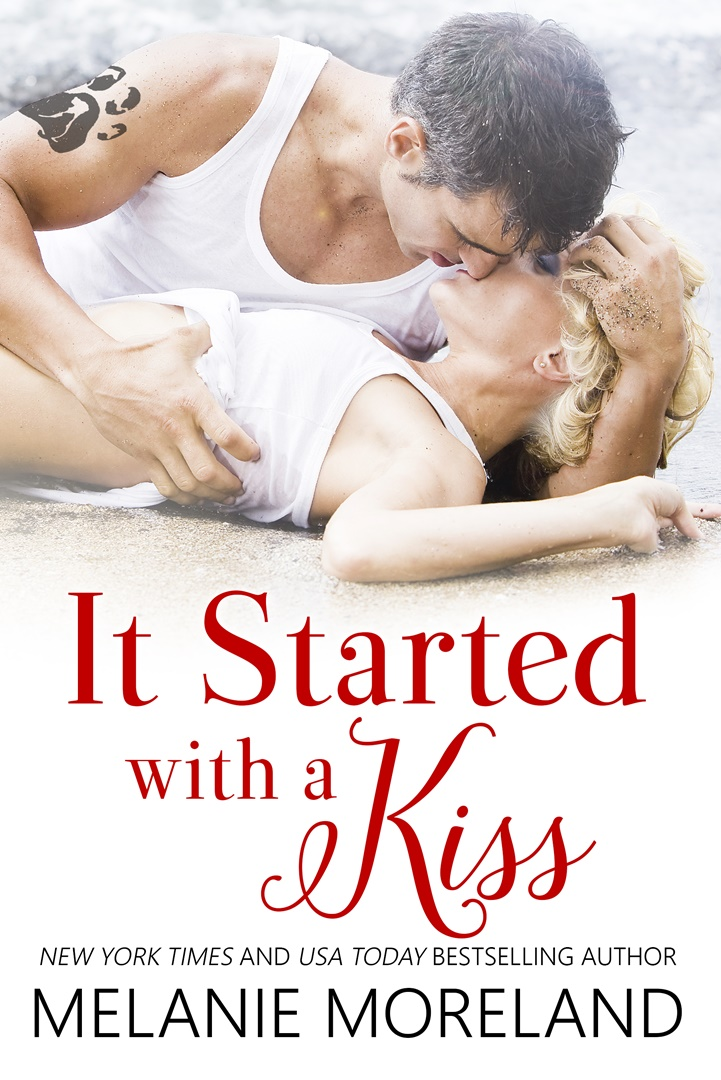 Cover Reveal for It Started With a Kiss by Melanie Moreland