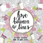 The BEST Adult Coloring Book is LIVE – Love Between the Lines by Christina Collie
