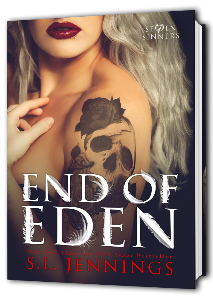S.L. Jennings End of Eden Cover Reveal