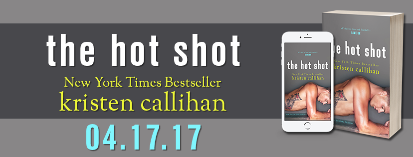 Cover Reveal for Kristen Callihan's Hot Shot
