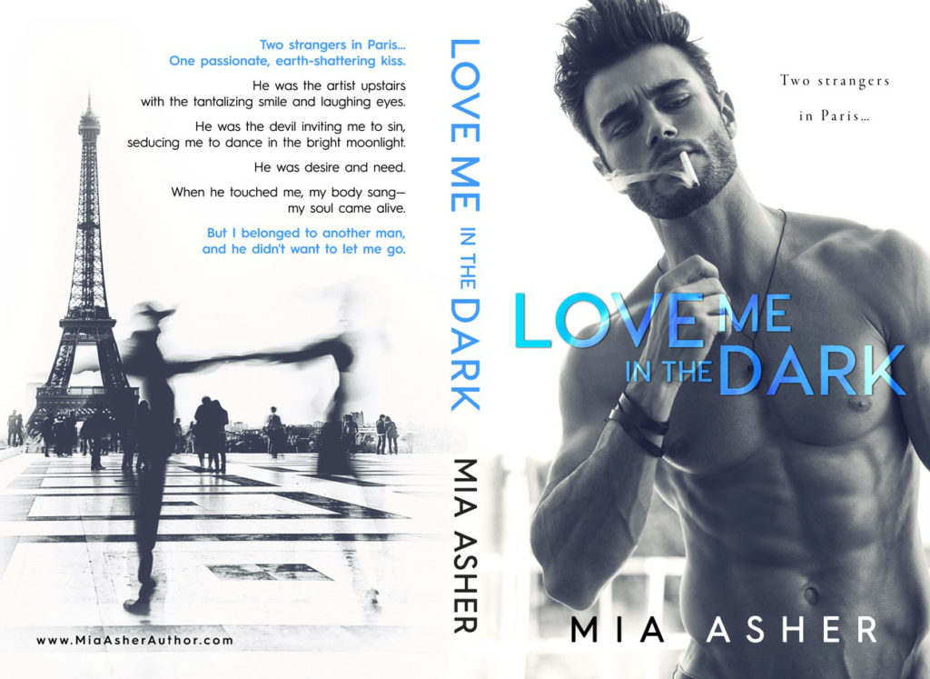 Mia Asher reveals the cover for Love Me in the Dark ...