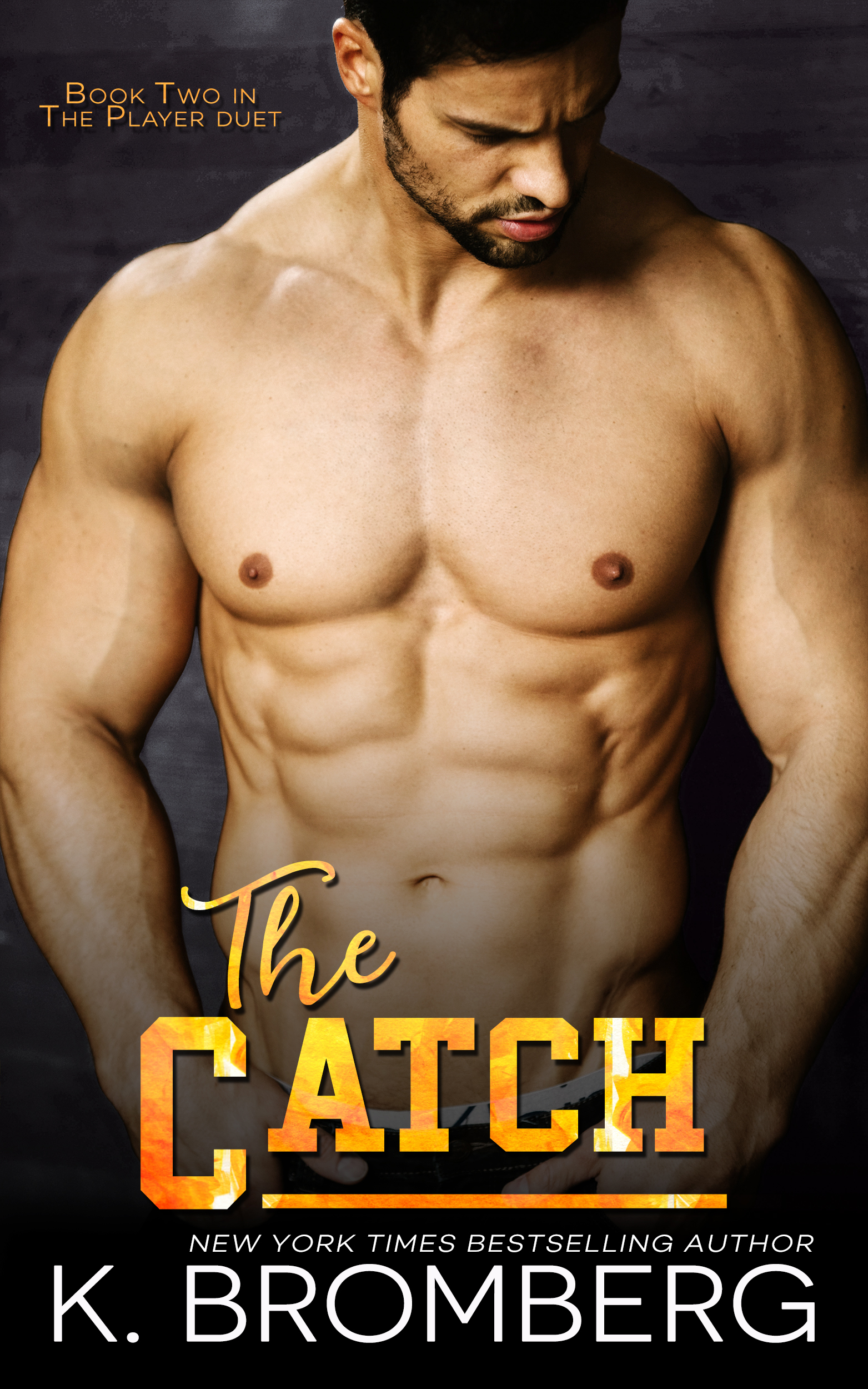 K. Bromberg reveals the cover for The Catch!