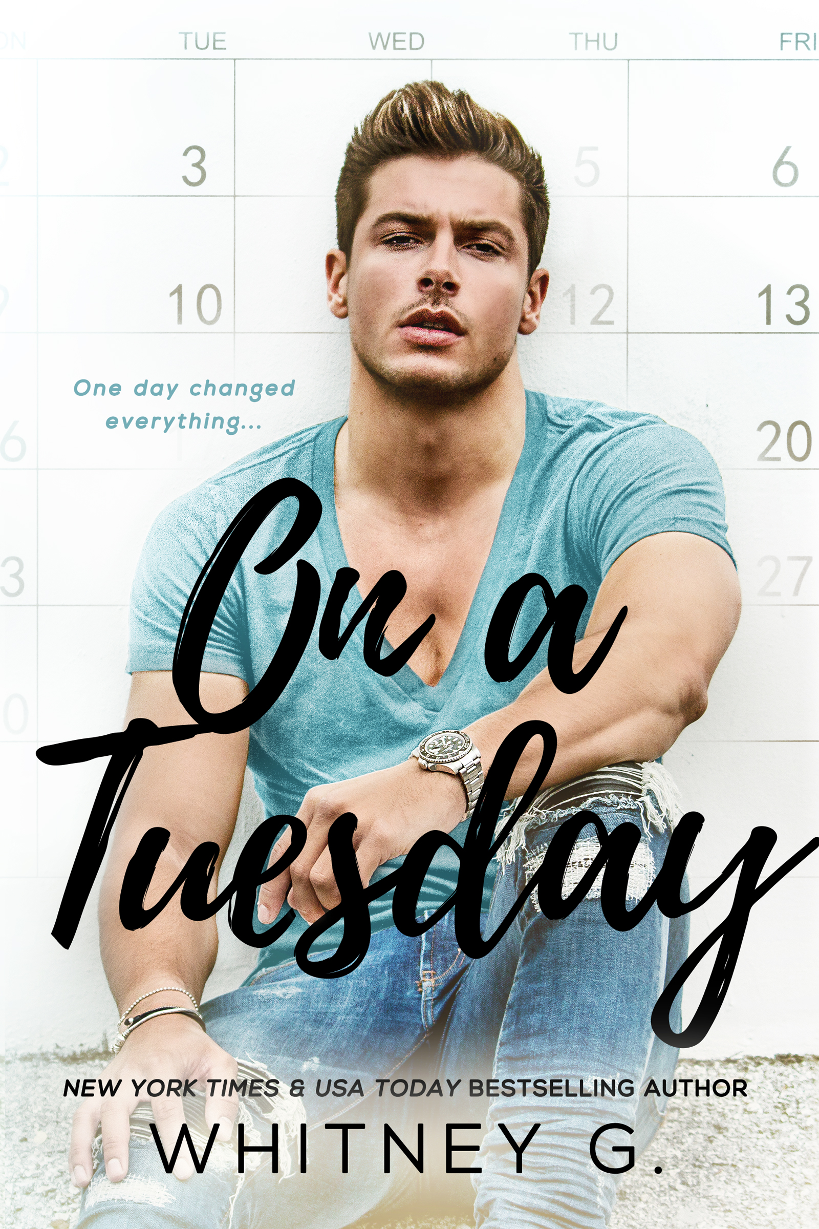 Cover Reveal: On a Tuesday by Whitney G.