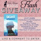 Flash Giveaway: Sight Unseen – A Collection of Five Anonymous Novellas Volume I by Sherry Thomas, Meredith Duran, Erin Satie, Emma Barry, J.A. Rock