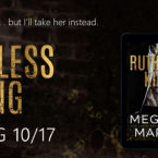 Cover Reveal: Ruthless King by Meghan March