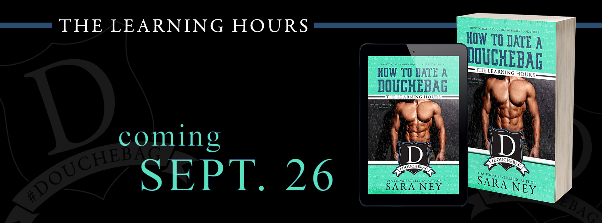 Cover Reveal: The Learning Hours by Sara Ney
