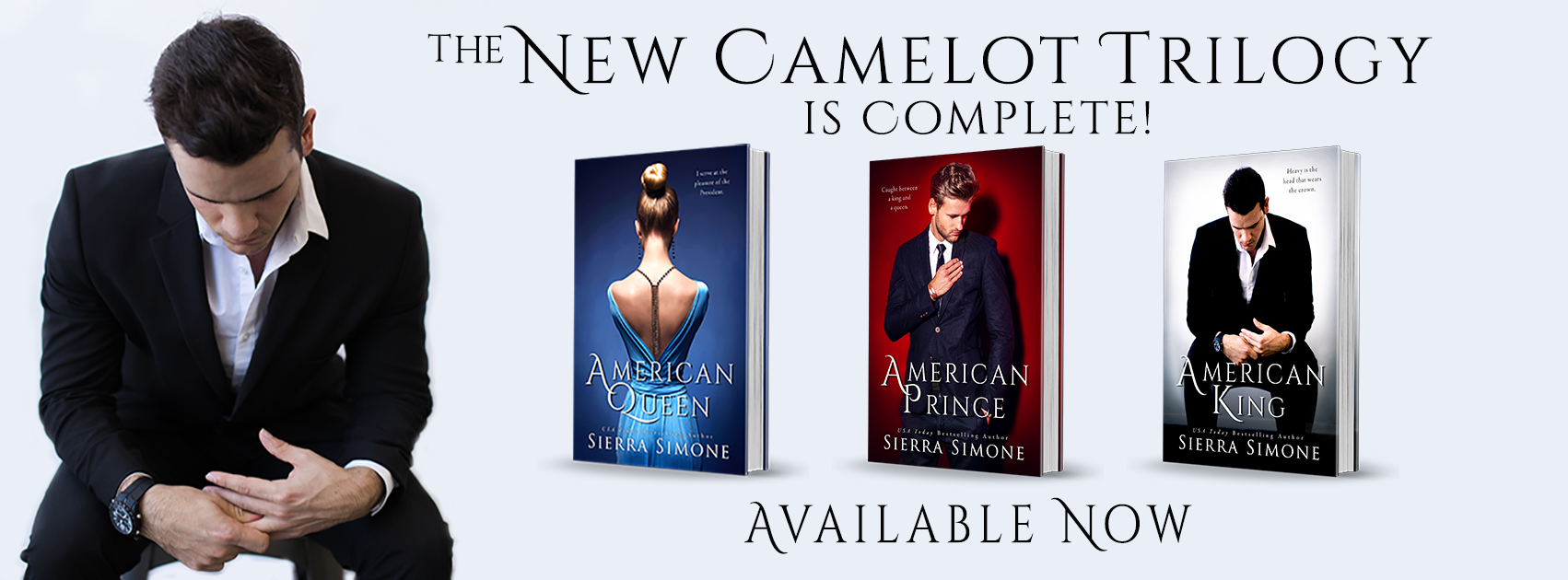 Series Review: The New Camelot Trilogy by Sierra Simone