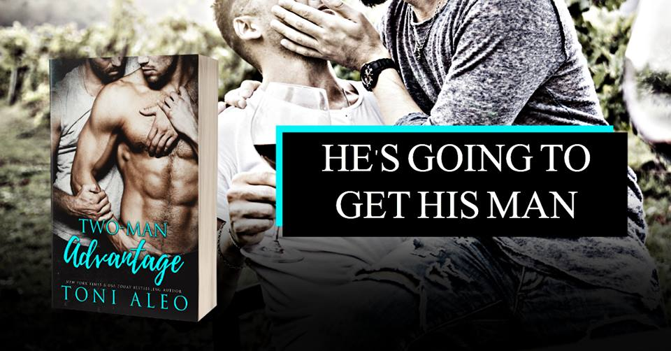Exclusive Excerpt and Giveaway: Two Man Advantage by Toni Aleo