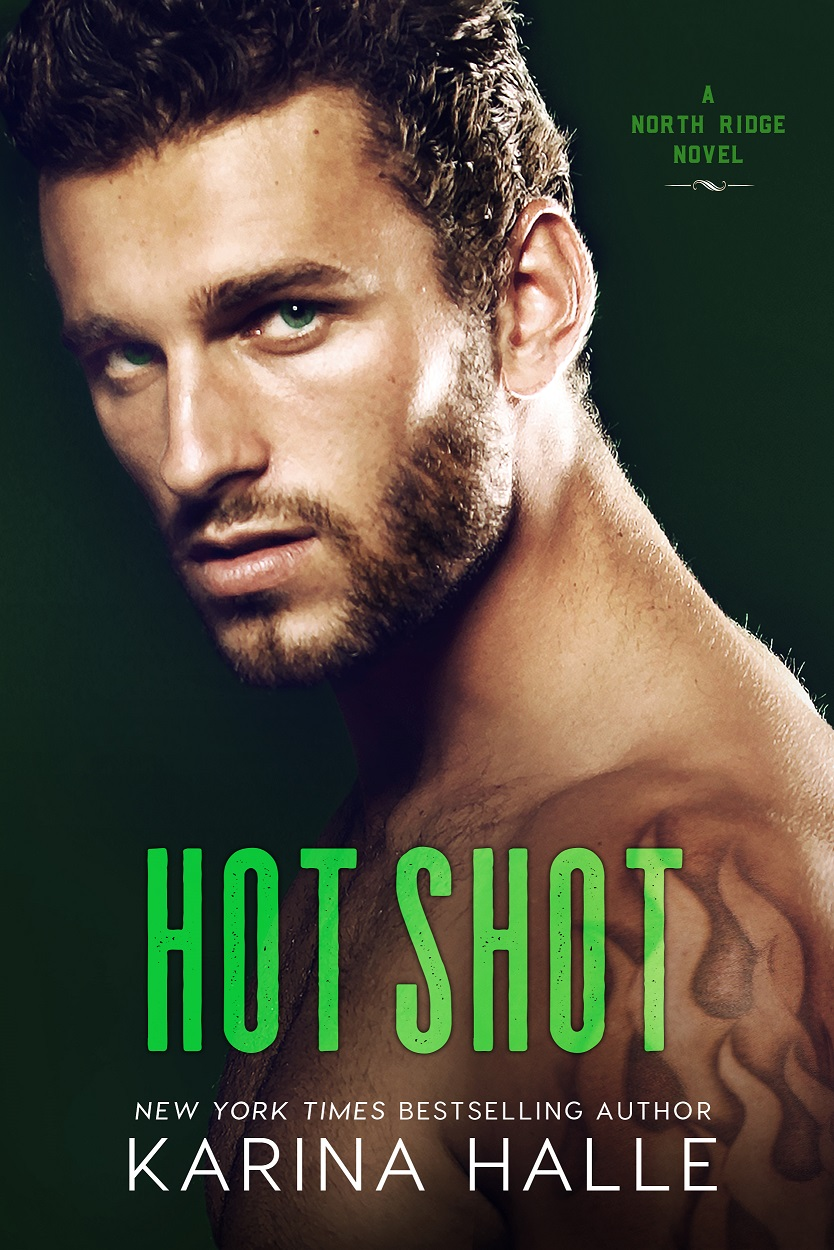 Cover Reveal: Hot Shot by Karina Halle